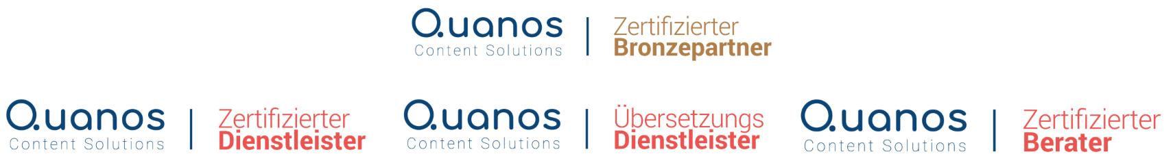 STYRZ Bronzepartner der Quanos-Content-Solutions und Schema ST4 Experte