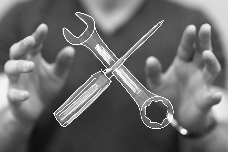 Werkzeuge fuer die Uebersetzung